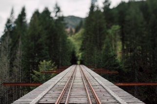 A Look at a Local Secret Gone Viral - Vance Creek Bridge