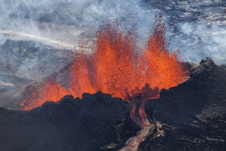 Incredible Aerial Photos From Iceland's Volcanic Eruption