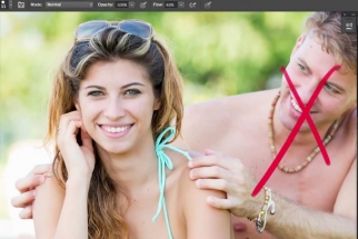 How to Quickly Remove Your Ex in Photoshop