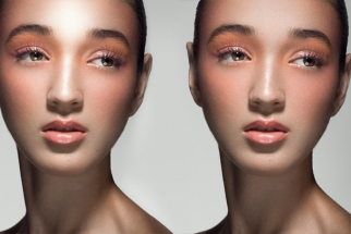 How to Recover Skin Texture from Over-Exposed Highlights