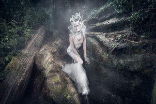 Fantasy Lighting in a Forest with Von Wong