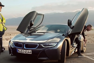 The Making Of The Amazing New Gus Van Sant BMW i8 TV Commercials