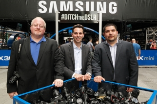 Samsung's #DITCHtheDSLR Event Makes its Way West, Comes to Los Angeles