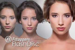 How To Photograph and Light A Beauty Shot With the Fstoppers Flashdisc