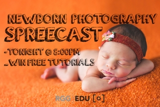 Tune In Live Tonight At 8PM for Q&A With Award Winning Newborn Photographer Stephanie Cotta