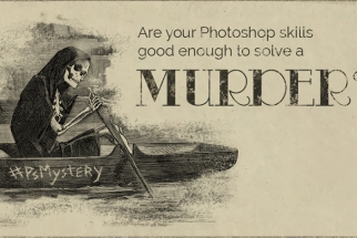 Are Your Photoshop Skills Good Enough to Solve a Murder Mystery?