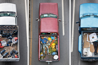 Photographing the Daily Truck Bed Commute of Mexican Carpoolers