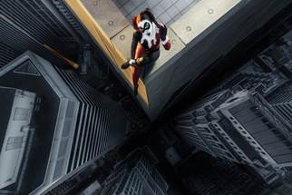 'Superheroes on Skyscapers' - Jaw Dropping Photo Shoot Places Regular People on the Edge of a 40 Story Building