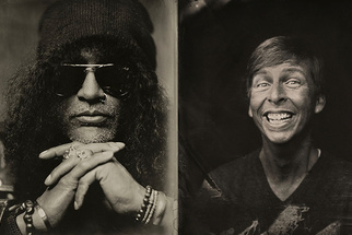 17 Extraordinarily Unique Celebrity Tintype Portraits and BTS With Victoria Will