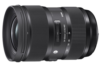 Sigma Announces World's Fastest Zoom Lens for Full Frames with the 24-35mm F/2 Art Series