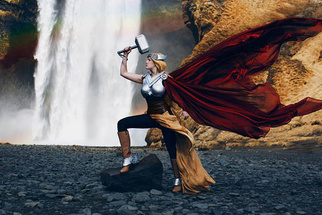 Shooting Mythical Heroes In Iceland
