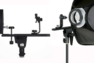 Mount Speedlights in Your Strobe Softboxes with the Cheetah Stand Speed Pro MKII