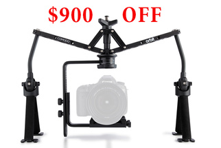 Huge 70% Discount on Comodo Orbit Handheld Stabilization Rig - $900 Off