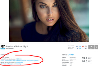 How to Add Links to your Description on 500px