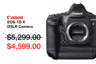 New Canon Flagship Camera to be Annouced as the EOS-1D X Price Drops