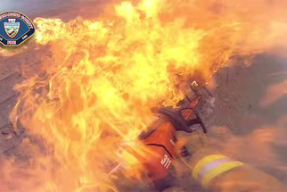 Firefighter's Helmet-Cam Puts You Right in the Middle of the Action