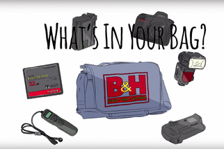 "B&H: ""What's in Your Bag?"" with Headshot Photographer Peter Hurley"