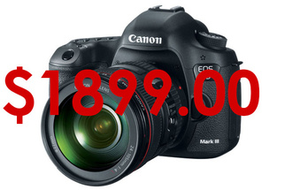 Amazing Deal: The Canon 5D Mark III For $1899