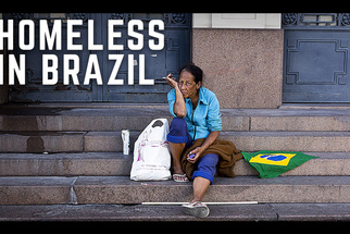Amateur Photographer's Street Photo Asks: Is The World Cup Making Thousands Homeless?