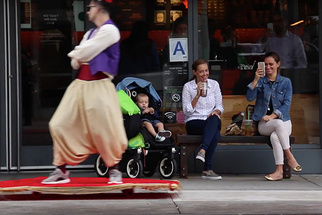 BTS: Aladdin and His Magic Carpet Come to Life in NYC in Casey Neistat's Latest VLOG