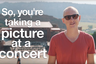Hilarious But Accurate Video Offers Tips On How To Take Better Concert Photos, Selfies, And Snapchats