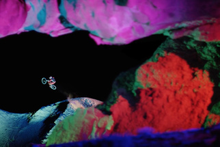 "BTS: Go Behind the Epic Technicolor Mountain Biking Production of ""Darklight"""