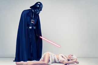 A Photoshoot For The Star Wars Fans
