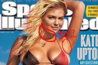 [Pic] Sports Illustrated Swimsuit Cover Is the Worst Photoshop I've Ever Seen