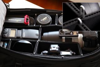 [Gear] Camera Bag Padding that Eliminates Velcro