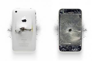 [Pics] Demolished Apple Products