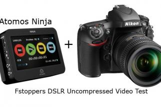 [FStoppers Review] Atomos Ninja External Recorder With Nikon D800