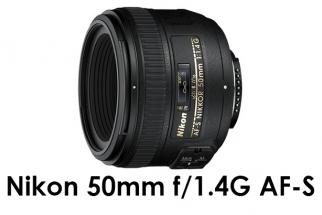 50mm f/1.4G AF-S