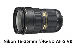 Nikon 16-35mm f/4G AF-S VR
