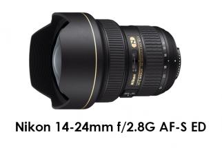 Nikon 14-24mm f/2.8G AF-S ED
