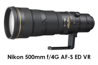 Nikon 500mm f/4G AF-S ED VR
