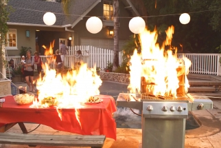 BTS Video Gives Hot Tips For Fire Effects On Set