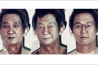 Creative Projector Portraits
