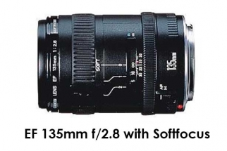 Canon EF 135mm f/2.8 with Softfocus
