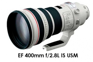 EF 400mm f/2.8L IS USM