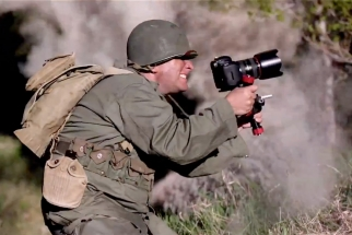 WWII Video Replaces Guns With DSLRs + Behind The Scenes + Explosions!