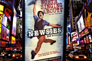 Behind The Scenes At Monte Isom's Newsies Musical Shoot