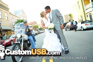 LAST CALL! Enter Custom USB's Unique Wedding Photo Contest