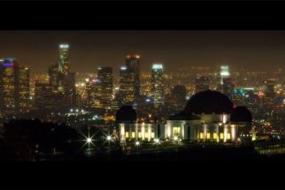 Nightfall in Los Angeles - Timelapse