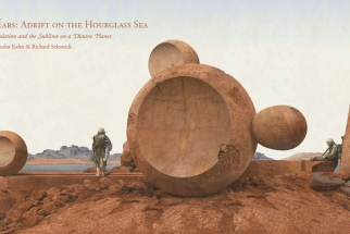 Adrift on the Hourglass Sea: Sci-Fi Images Commissioned by NASA