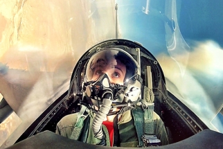 GoPro Action: Blair Bunting Takes to the Skies in an F-16