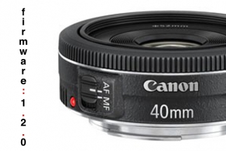 Download Canon's EF 40mm Autofocus Firmware Fix