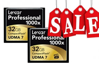 High End Lexar Memory Cards Are Currently On Sale