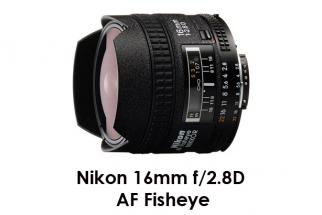 Nikon 16mm f/2.8D AF Fisheye