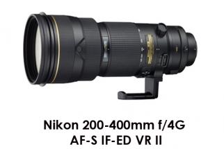 Nikon 200-400mm f/4G AF-S IF-ED VR II