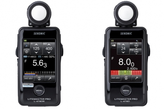 Sekonic's Newest Meter Gets a Little Touchy